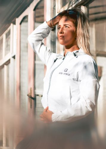 GG-PRO Women's Track Jacket With Reflective Strips